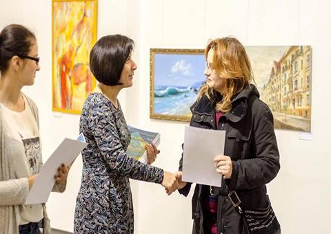 Каменская художница стала первой в концептуальной номинации «Профессионал» Днепродзержинск