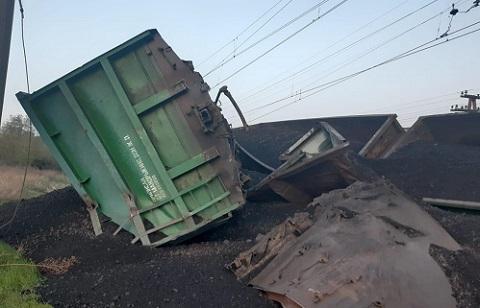 По факту железнодорожной аварии в Кривом Роге открыто уголовное производство Днепродзержинск