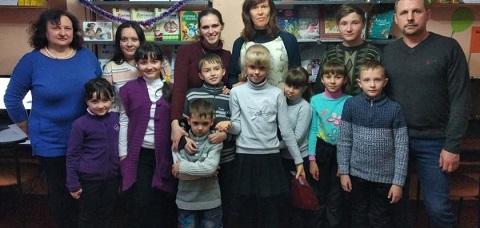 Празднично провели вечер читатели в библиотеке Каменского Днепродзержинск