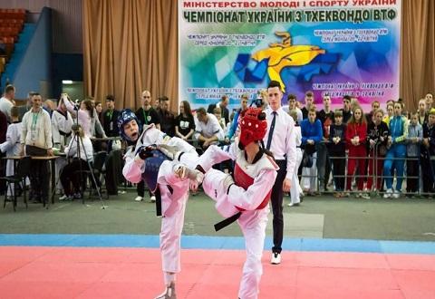 Тхэквондисты г. Каменское успешно выступили в Харькове на чемпионате Украины Днепродзержинск