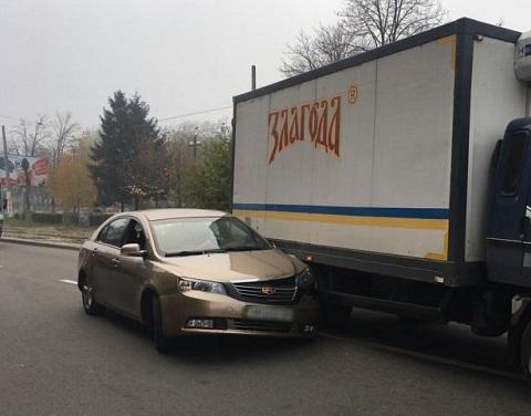 ДТП стало препятствием для движения транспорта по проспекту Свободы в Каменском Днепродзержинск