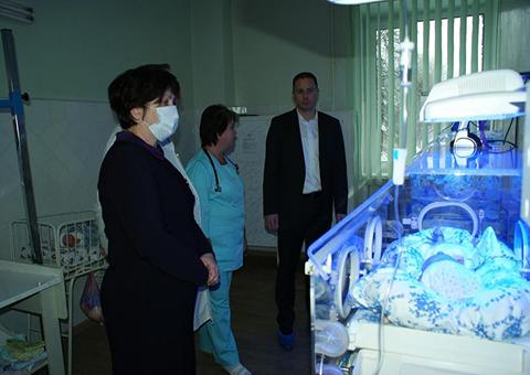 В детской больнице№ 6  Каменского запустили лифт Днепродзержинск