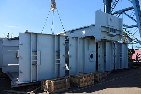 На ГЭС г. Каменское приступили к замене верхней секции основного затвора Днепродзержинск