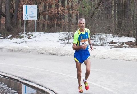 Ветеран–марафонец из г. Каменское  стал победителем очередного забега Днепродзержинск