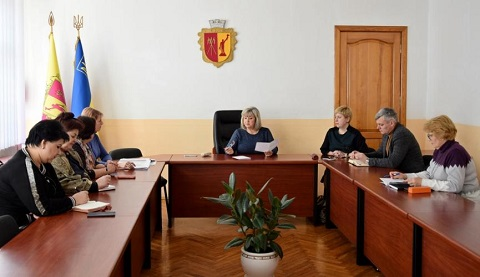 В Каменском заседали комиссии по решению социальных вопросов Днепродзержинск