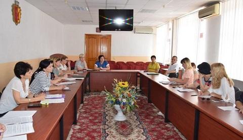 В Каменском заседал координационный совет по вопросам охраны здоровья Днепродзержинск