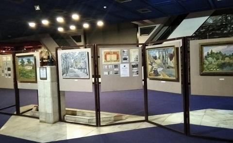 В Музее истории г. Каменское открыли выставку художника В. Жугана Днепродзержинск