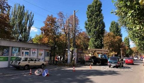 В Каменском приступили к осеннему благоустройству города Днепродзержинск