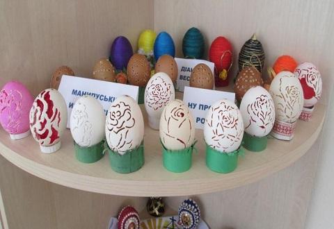 Библиотека Каменского проводит подготовку к пасхальным праздникам Днепродзержинск