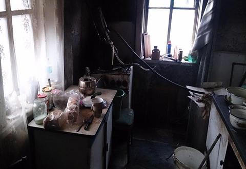 На улице Л. Украинки в Каменском на пожаре погиб пенсионер Днепродзержинск