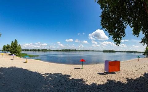 Мэр г. Каменское побывал на пляжах города с инспекцией Днепродзержинск