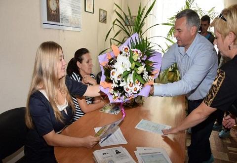 Население Каменского  пополнилось двумя новорожденными в День города Днепродзержинск