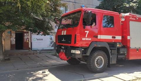В Днепровском районе города Каменское провели демеркуризацию в подъезде дома Днепродзержинск