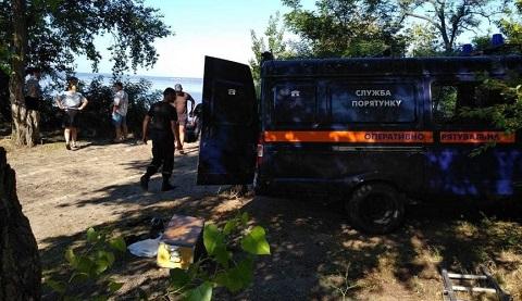 Спасатели г. Каменское нашли тело утонувшего на водохранилище мужчины Днепродзержинск