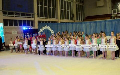 Юные гимнастки собрались в Каменском на турнир «Снежинка 2018» Днепродзержинск
