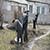 Жильцы многоэтажек Каменского вышли на трудовой субботник
