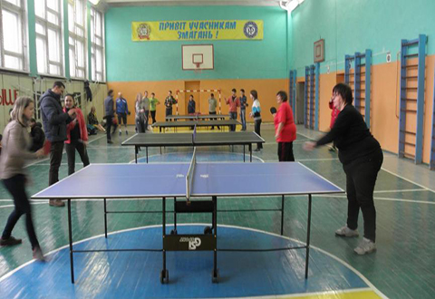 «Инваспорт» горсовета города Каменское провел соревнования по настольному теннису Днепродзержинск