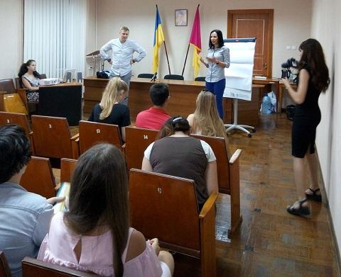 Молодежь г. Каменское обучали по программе развития лидерского потенциала Днепродзержинск