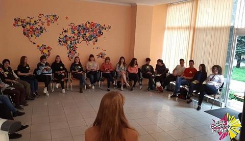 Школа волонтеров г. Каменское провела тренинг Днепродзержинск