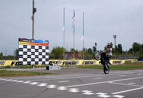 На картодроме в Каменском прошел финал чемпионата страны по мотогонкам Днепродзержинск