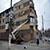 УКОЖФ Каменского приступил к удалению с фасадов зданий опасных для жителей элементов