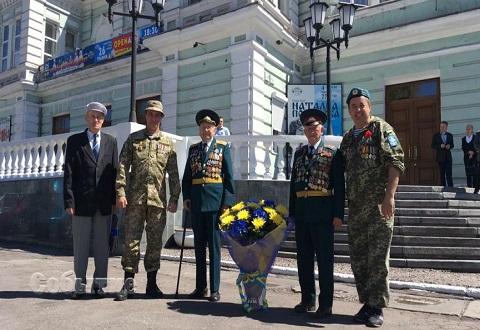 В Каменском День Победы отметили торжественно Днепродзержинск