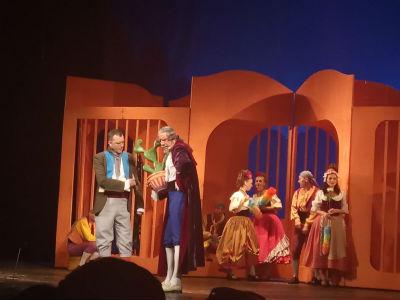Гастроли Кропивницкого театра в Каменском Днепродзержинск