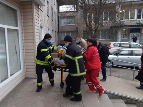 Под г. Каменское спасатели оказали помощь в госпитализации больного Днепродзержинск