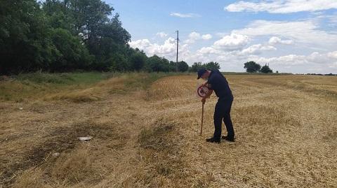 Спасатели г. Каменское выполняют рейдовые проверки в период сбора ранних зерновых Днепродзержинск