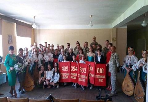 Совместное мероприятие с ветеранами провели школьники СОШ № 19 г. Каменское Днепродзержинск