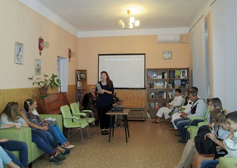 В Каменском продолжают изучат Японию на мероприятиях в ЦГБ Днепродзержинск