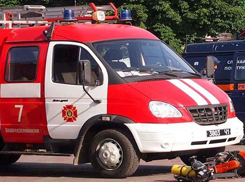Спасатели  ГПСЧ № 7 г. Каменское ликвидировали пожар на улице Глаголева Днепродзержинск