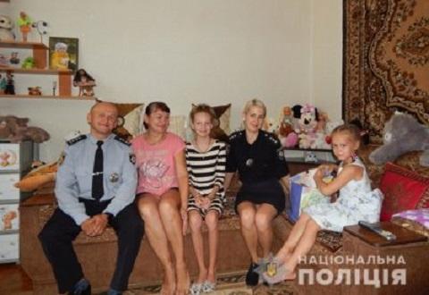 Каменские полицейские поздравили детей с Днем знаний Днепродзержинск