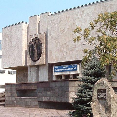 Первые посетители выставки побывали в Музее истории г. Каменское Днепродзержинск