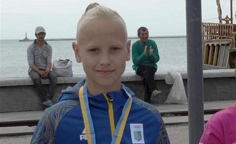 Юный Каменчанин стал победителем всеукраинского турнира по плаванию Днепродзержинск