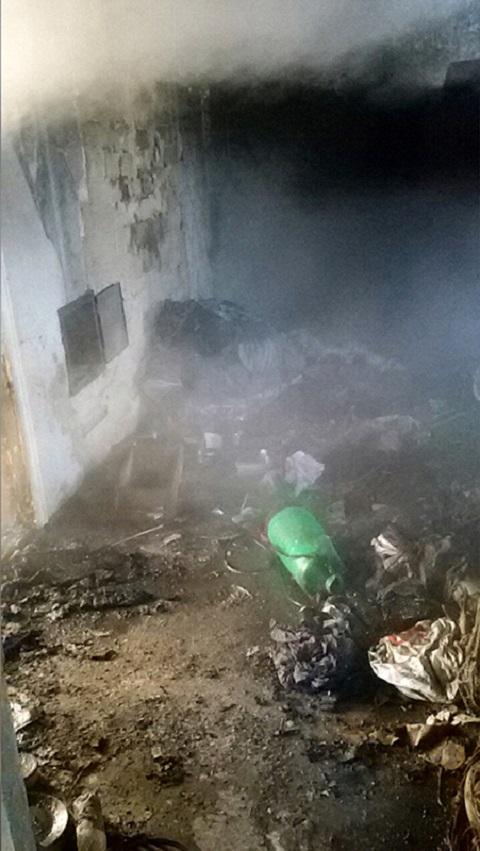 В Южном районе города Каменское в сгоревшем доме обнаружили погибшего человека Днепродзержинск