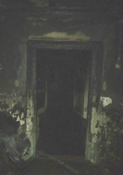 На Маяковского в Каменском горел заброшенный дом Днепродзержинск