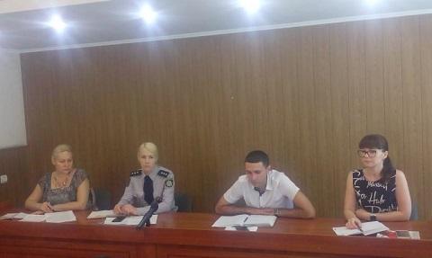В Каменской полиции провели круглый стол Днепродзержинск