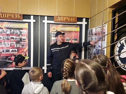 Познавательную экскурсию провели для школьников спасатели г. Каменское Днепродзержинск