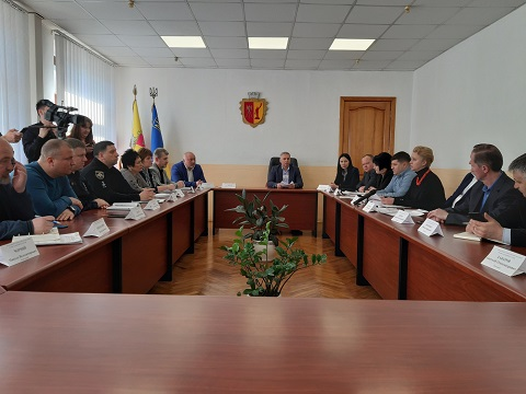 В Каменском провели заседание комиссии по вопросам ТЭБ и ЧС Днепродзержинск