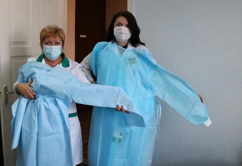 Медикам «ДМК» г. Каменское доставили новый антивирусный груз  Днепродзержинск