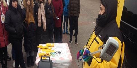 В Каменском в рамках проекта «КРОК до Безпеки» провели мероприятие  Днепродзержинск