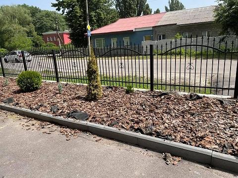 В Каменском с территории храма украли зелёные насаждения Днепродзержинск