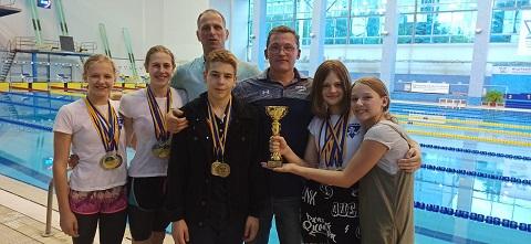 Каменские пловцы стали лучшими на чемпионате Украины среди юниоров Днепродзержинск