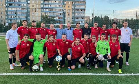 «Дзержинец» г. Каменское стал победителем чемпионата Днепропетровской области Днепродзержинск