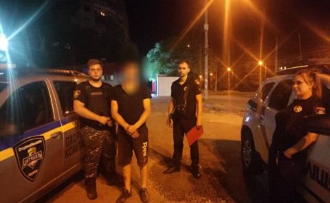 В Каменском задержали «металлиста» Днепродзержинск