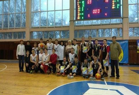 Любительские команды Каменского приняли участие в чемпионате города по баскетболу Днепродзержинск