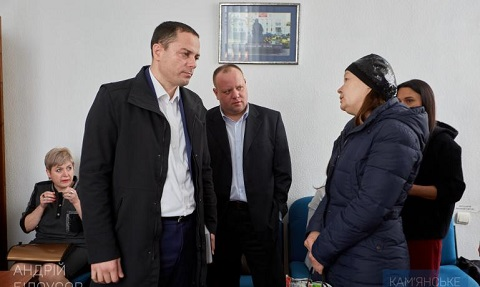 Градоначальник г. Каменское провел прием граждан Днепродзержинск