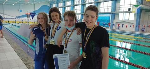 Каменчане в эстафете стали чемпионами страны Днепродзержинск