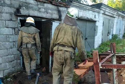 В Каменском спасатели ликвидировали пожар на улице Мира  Днепродзержинск